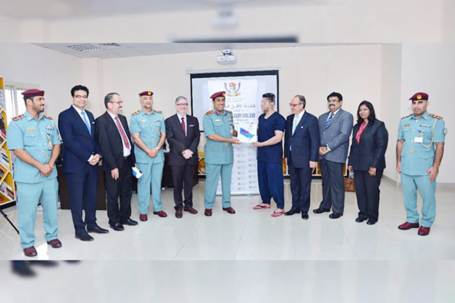 Skyline University College Launched Academic program with Sharjah Police for Inmates